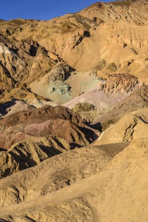 The USA, California, Death Valley National Park, Artists drive, Artists palette by Udo Siebig