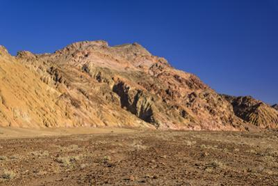 The USA, California, Death Valley National Park, Artists drive, scenery with Artists palette by Udo Siebig