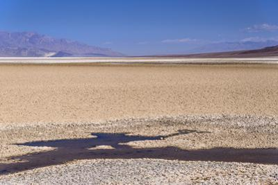The USA, California, Death Valley National Park, Badwater Basin, Badwater by Udo Siebig