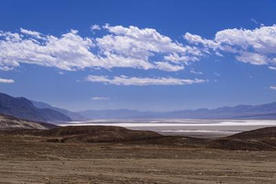 The USA, California, Death Valley National Park, Badwater Basin, view from Artists drive by Udo Siebig