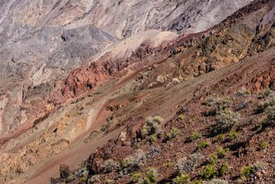 The USA, California, Death Valley National Park, Dantes View, Amargosa Range by Udo Siebig