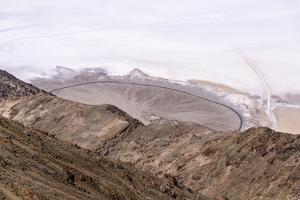 The USA, California, Death Valley National Park, Dantes View, Badwater Basin by Udo Siebig