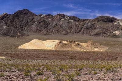 The USA, California, Death Valley National Park, scenery on the Dantes View Road by Udo Siebig