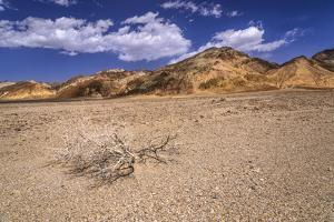 The USA, California, Death Valley National Park, scenery with Amargosa Range in the Badwater Road by Udo Siebig