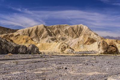 The USA, California, Death Valley National Park, Twenty Mule Team Canyon, Furnace Creek Wash by Udo Siebig
