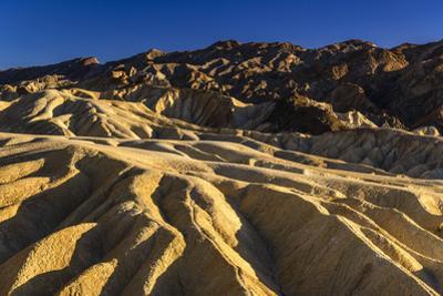 The USA, California, Death Valley National Park, Zabriskie Point, badlands by Udo Siebig