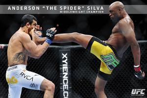 UFC - Anderson Silva Sports Poster