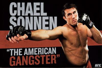 UFC - Chael Sonnen Sports Poster