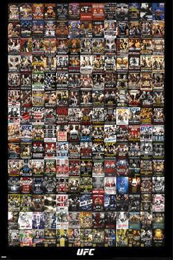 UFC- Events Promo Collage