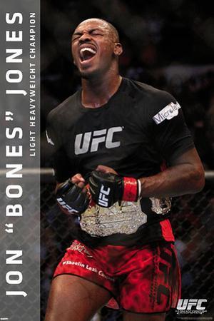 UFC - Jon Jones Poster