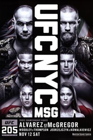 UFC- NYC 205