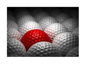 Different Golf Ball by Ufuk