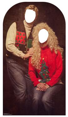 Ugly Christmas Sweater Portrait Stand-in