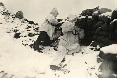 Alpine Sentinels on Monte Nero During World War I