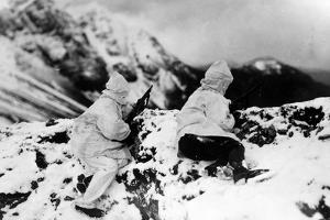 Alpine Sentinels on Monte Nero During World War I by Ugo Ojetti