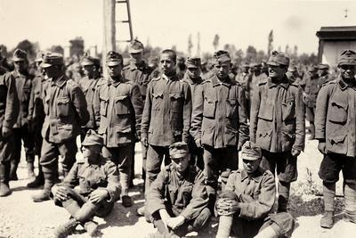 Austrian Prisoners in Bagnaria Arsa During World War I