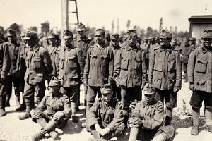 Austrian Prisoners in Bagnaria Arsa During World War I by Ugo Ojetti
