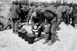 Austrian Prisoners of World War I, in Bagnaria Arsa by Ugo Ojetti