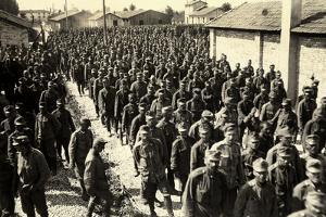 Camp of Austrian Prisoners in Bagnaria Arsa by Ugo Ojetti