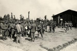 Encampment of Austrian Prisoners in Bagnaria Arsa by Ugo Ojetti