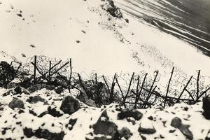 Fencing of the Front Line Towards Monte Rosso During World War I by Ugo Ojetti