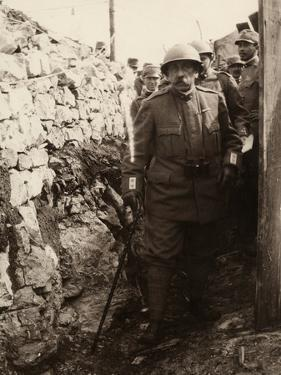 General Elia Inside a Trench with a Group of Soldiers. the Photo Was Taken May 1916 by Ugo Ojetti