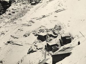 Italian Headquarters and Supply Post on Monte Nero During World War I by Ugo Ojetti