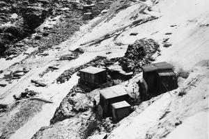 Italian Headquarters and Supply Posts on Monte Nero During World War I by Ugo Ojetti