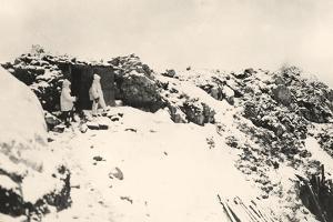 Italian Telephonic Post on Monte Nero During World War I by Ugo Ojetti