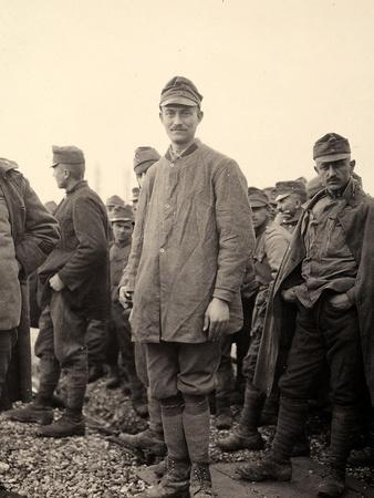 Prisoner at Bagnaria Arsa, Udine, During World War I
