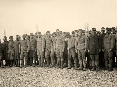 Prisoners at Bagnaria Arsa During World War I