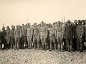Prisoners at Bagnaria Arsa During World War I by Ugo Ojetti