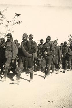 Prisoners on March During WWI by Ugo Ojetti