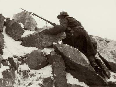 Sentry Duty on Adamello During World War I