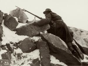 Sentry Duty on Adamello During World War I by Ugo Ojetti