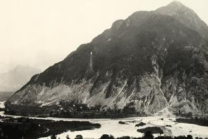The Isonzo River and Mount Polienik in Slovenia During World War I by Ugo Ojetti