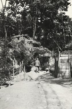 The Shelter of Podgora During World War I by Ugo Ojetti