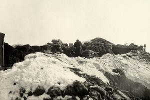 Trenches on Pal Grande During World War I by Ugo Ojetti