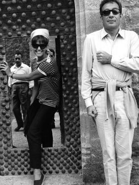 Ugo Tognazzi and Claudia Cardinale, 1964