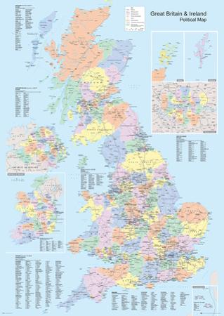 UK Political Map