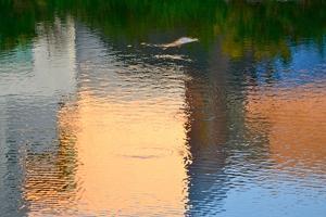 Reflection on the Iowa River No. 1 by Ulpi Gonzalez