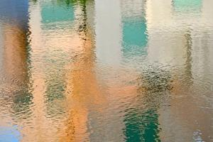 Reflection on the Iowa River No. 2 by Ulpi Gonzalez