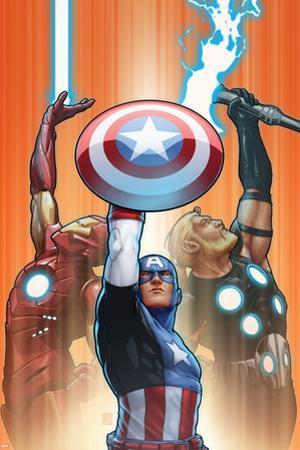 Ultimate Comics Ultimates No. 18.1: Captain America, Thor, Iron Man