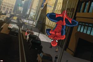 Ultimate SpiderMan - Animation 2015 Stills