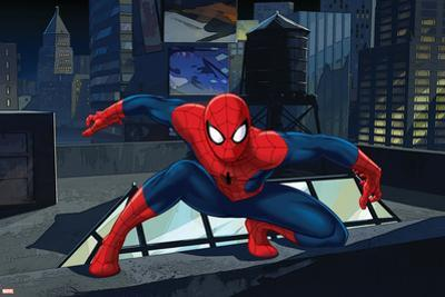Ultimate SpiderMan - Art - Situational Art