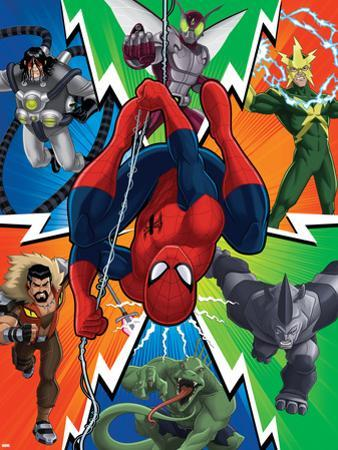 Ultimate SpiderMan - Sinister Art - Situational Art