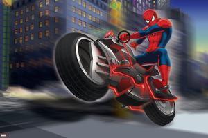 Ultimate SpiderMan - Situational Art