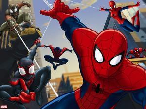Ultimate SpiderMan - Web Warriors Situational Art