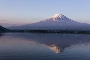 Mt. Fuji Reflected in Lake, Kawaguchiko, by ULTRA.F