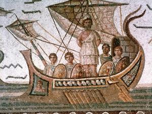 Ulysses and the Sirens, Roman Mosaic, 3rd Century Ad